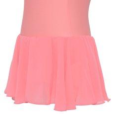 Photo5: Junior Kids Leotard, 'CANDIE' Pink, with Chiffon Skirt. Cool & Dry, UPF50+ (5)