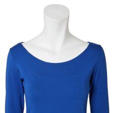 Photo4: 3/4 sleeve T-shirts, Royal blue (4)
