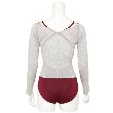 Photo3: Lyocell, Tights T-shirts/Heather light-gray, (3)