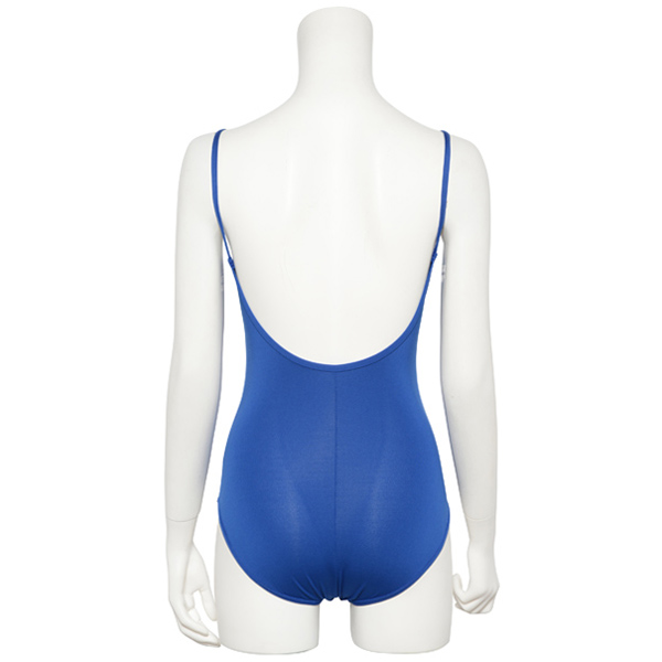 "Photo1: Junior Kids Leotard, ""SUMOMO""  Royal blue, Pinch gather in the neck. Cool & Dry, UPF50+ (1)"
