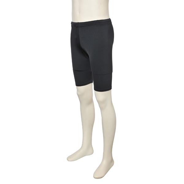 Photo1: Boy's Leotard, Half Pants, Cool & Dry, UPF50+ (1)