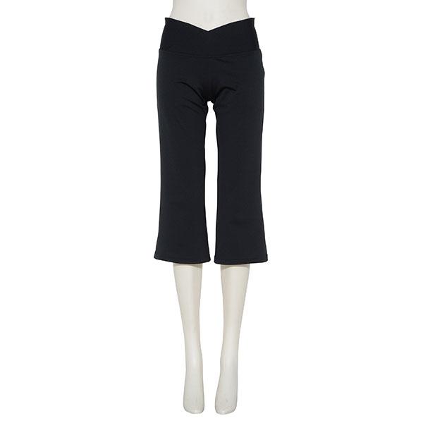 Photo1: Capri-pants. A silk-like feel inside (1)